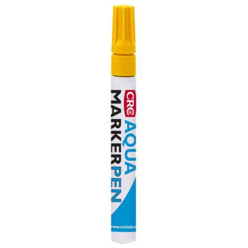 CRC Marķieris Aqua Marker Pen Yellow 12x- 32469-AA