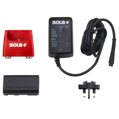 Akumulatoru komplekts SOLA Li-ion Battery set 5.2