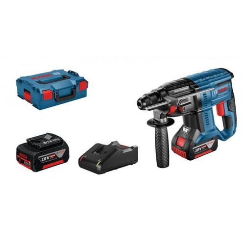 Perforators GBH 18V-20, 2x4.0Ah, GAL 18V-40 L-Boxx 061191100