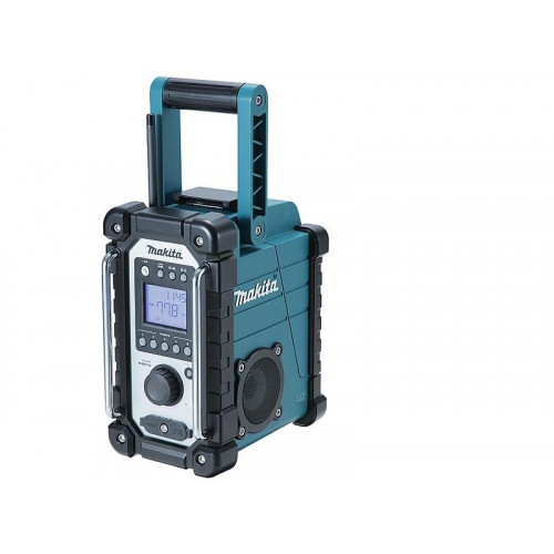 DMR107, Akumulatora radio, darbojas ar visiem Makita akumula