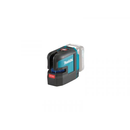 SK106DZ, Lāzerlimeņrādis Makita 12V MAX, Red Cross Line Laser, pašlīmeņošanās, precizitāte ± 0,3mm/1m, IP54, Z - versija