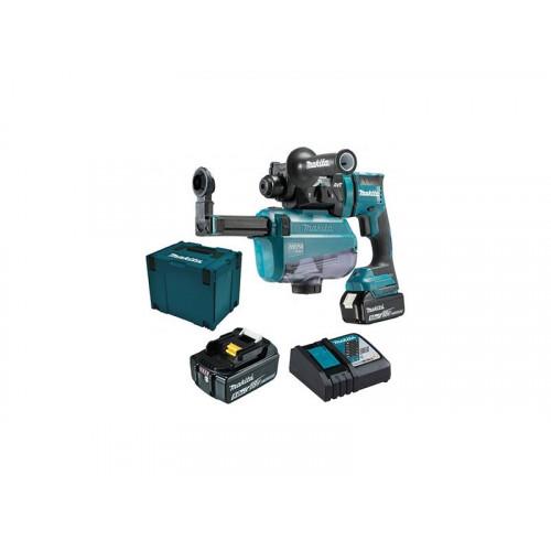 DHR182RTWJ,Akumulatora perforators 18V 2x5Ah SDS-PLUS MAKITA