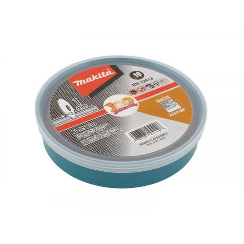 Griezripa 125x1 mm Inox/tērāuds (10)