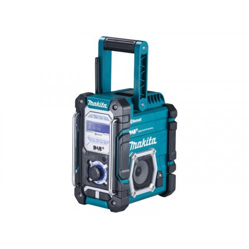 DMR112, DAB+ Radio, darbojas ar visiem Makita akumulatoriem