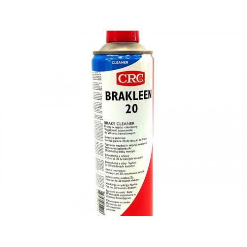 CRC, BRAKLEEN 20 bremžu tīrītājs - attaukotājs 500ml